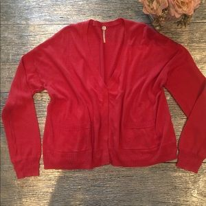 Margaret O'Leary Hidden Button Cardigan